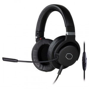 Cooler Master Gaming Headset, 3.5mm 4-pole jack, MH-751, Black, Built-in microphone